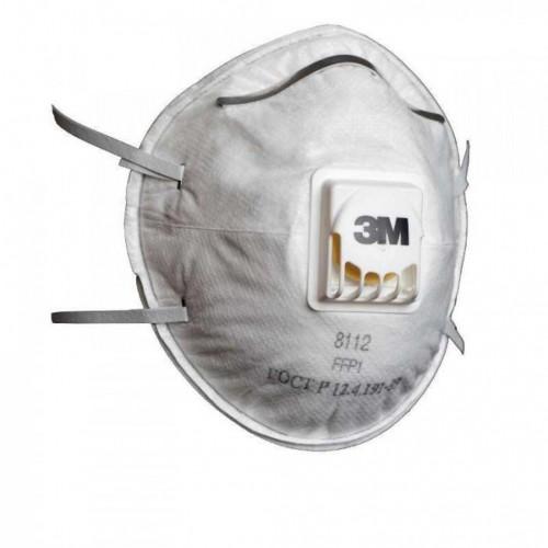 3M 8112 (C111) FFP1 Ventilli Toz ve Sis Maskesi